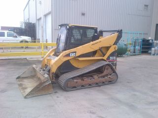 2006 Cat 287b Track Skid Steer Loader,  Tracks,  Cab,  Heat,  Air,  Quick Attach photo