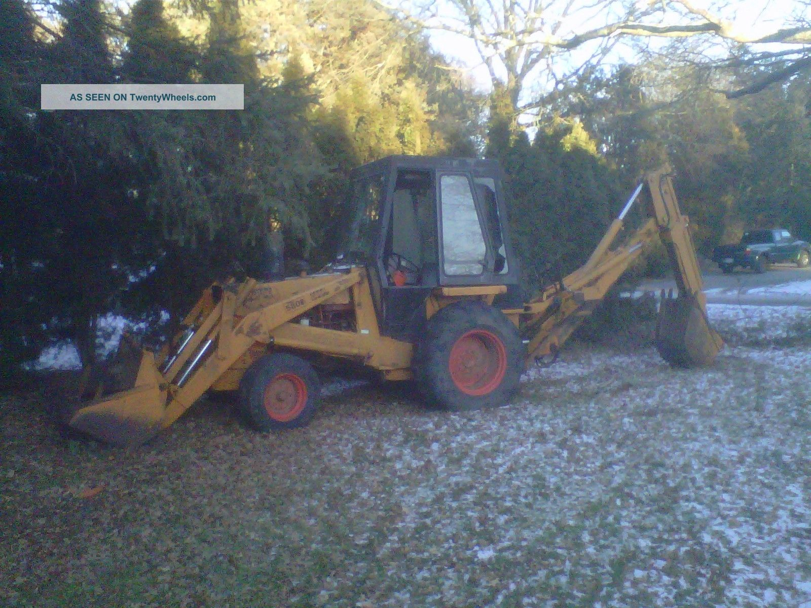 Case 580b Backhoe Backhoe Loaders photo
