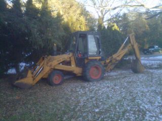 Case 580b Backhoe photo