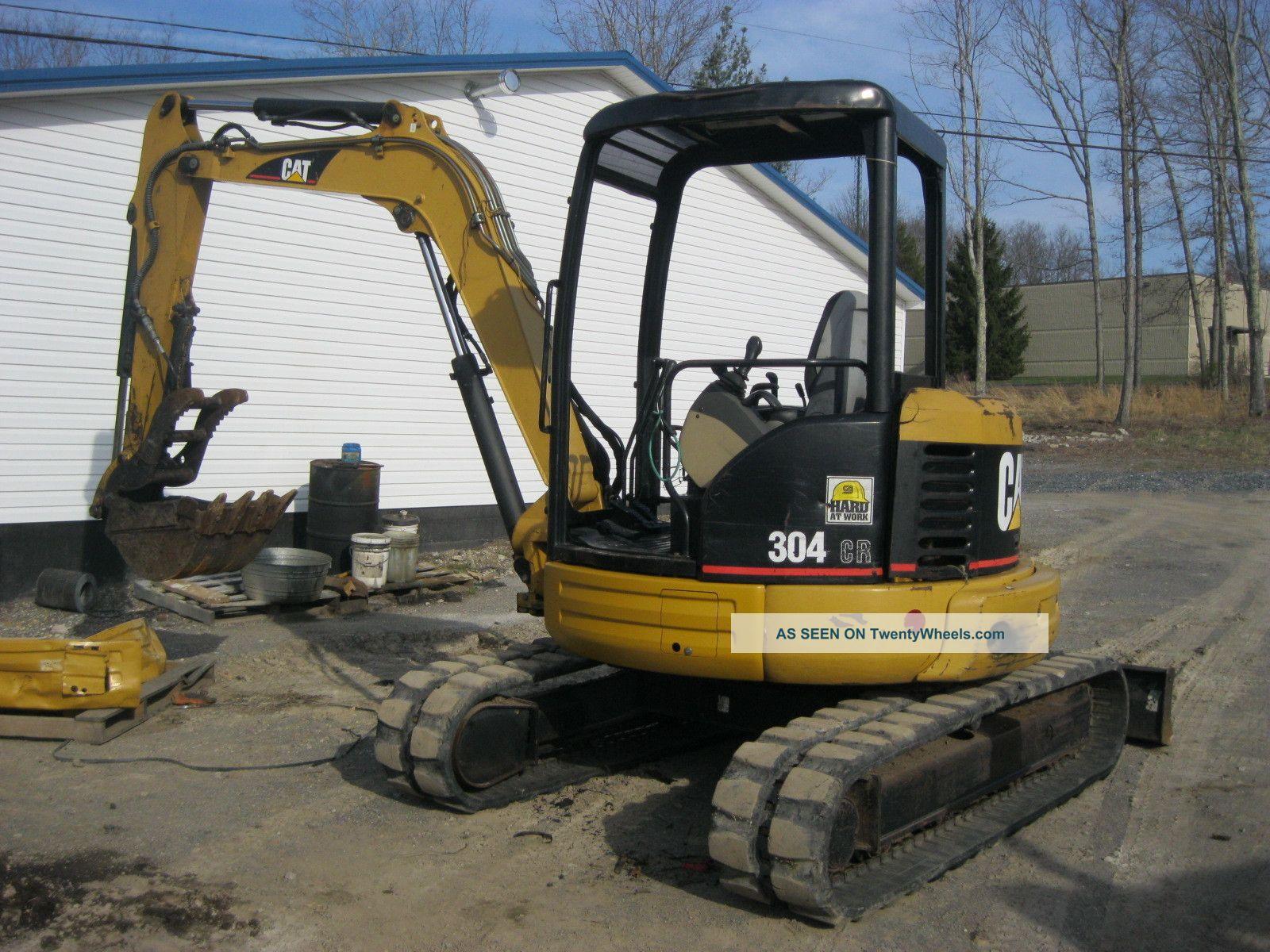 2006 Caterpillar Cat 304cr Mini Excavator Excavators photo
