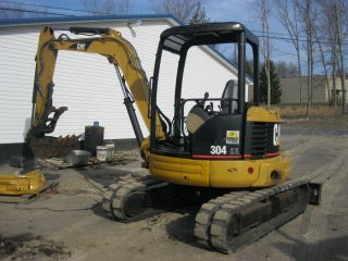 2006 Caterpillar Cat 304cr Mini Excavator photo