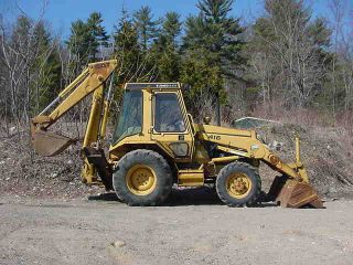 Caterpillar Cat 416 4x4 Turbo Backhoe Loader 3871 Hrs Diesel Erops photo