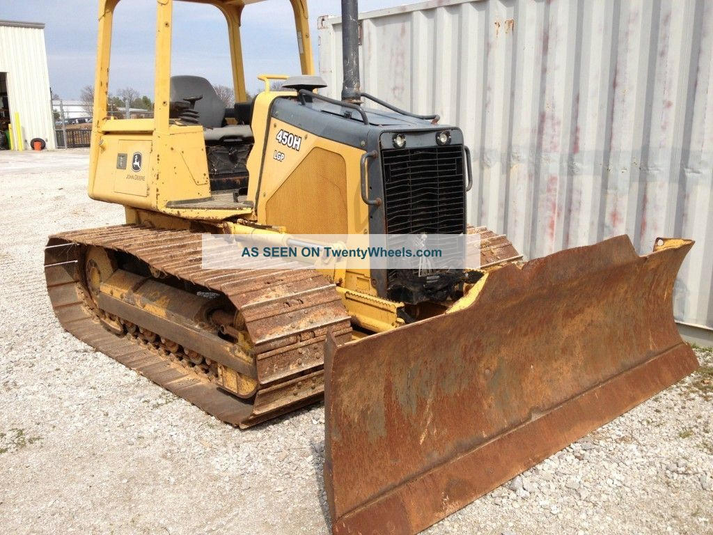 2003 John Deere 450h Crawler Dozer Crawler Dozers & Loaders photo