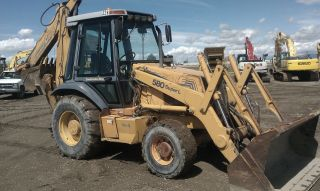 1996 Case Backhoe 580 L photo