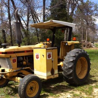 Ford 6610 Tractor.  W/ Tiger Side Mount Mower.  Good Farm Tractor.  Good All The Way photo