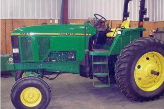 1993 John Deere 7600 Tractor photo