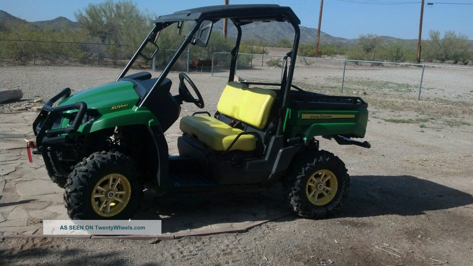 2012 John Deere Gator Xuv 550 Utility Vehicles photo