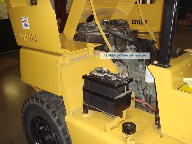 13 000 Pound Capacity Clark Forklift Tow Motor Lift Truck