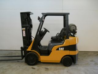 2007 Caterpillar C5000 5000 Lb Capacity Lift Truck Forklift Triple Stage Mast photo