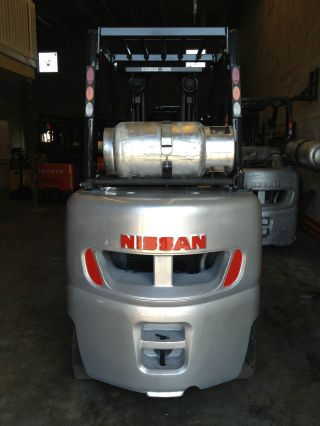 2008 Nissan Forklift Model Mcug1f2f30lv 6000lbs 3 Stage Mass W/ Side Shift photo