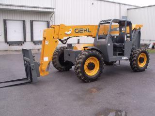 Gehl Rs8 - 42 Telescopic Telehandler Forklift Lift Fresh Paint & Service photo
