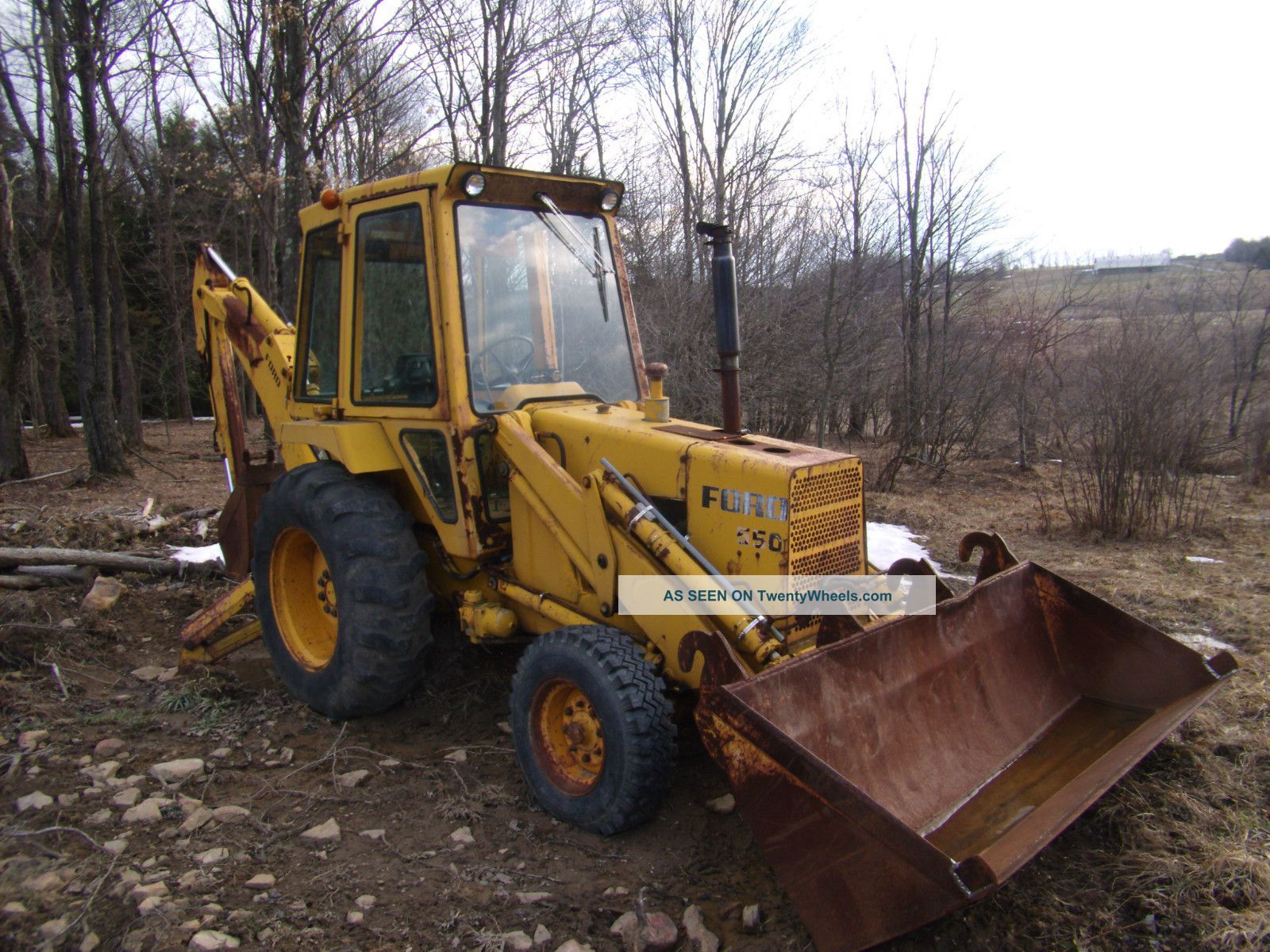 Ford 550 Backhoe Loader Backhoe Loaders photo