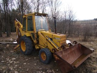 Ford 550 Backhoe Loader photo