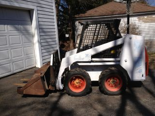 Bobcat Skidsteer 742 photo