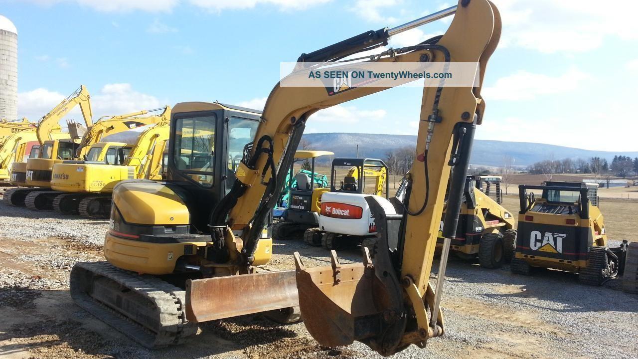 2005 Cat Caterpillar 305cr Mini Excavator Track Hoe Tractor Machine Loader. . Excavators photo