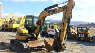 2005 Cat Caterpillar 305cr Mini Excavator Track Hoe Tractor Machine Loader. . photo