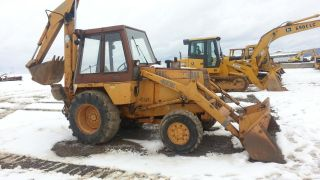 1986 Case 480e Backhoe Wheel Loader Diesel Construction Machine Tractor. . . photo