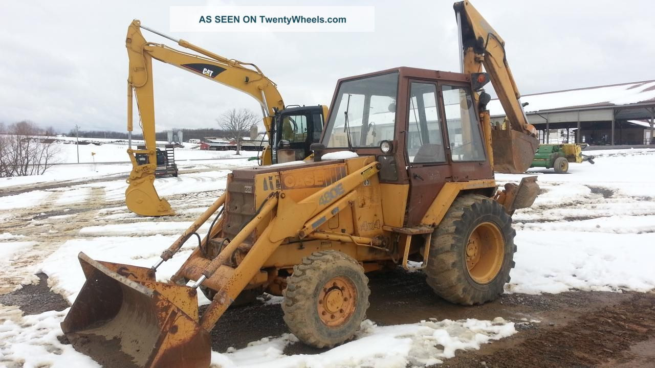 Case 480 backhoe images for Avis e case construction