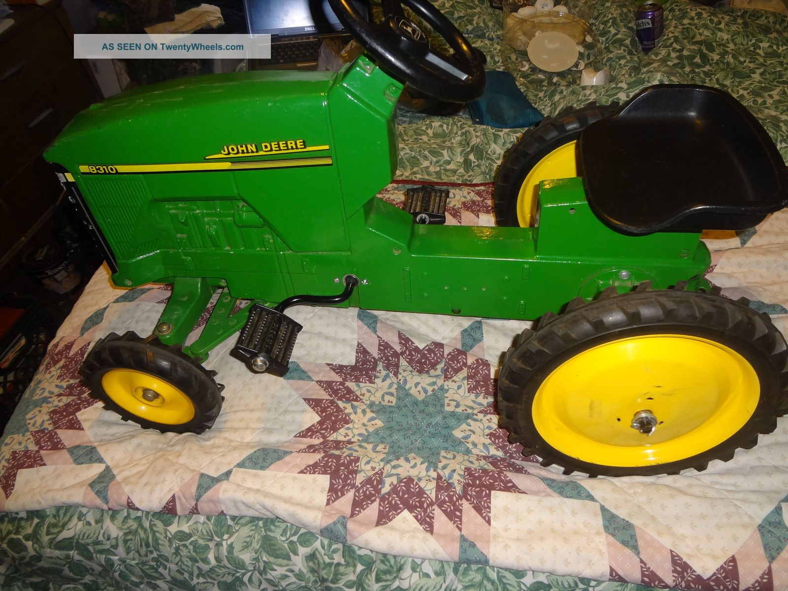 Vintage 8310 Toy John Deere Tractor John Deere photo