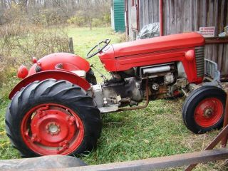 Vintage Massey - Harris - Ferguson Mh - 50 Tractor photo