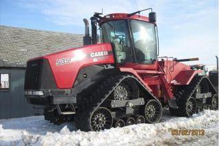 2008 Case Ih Steiger 535 Quad Tractor photo