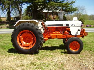 995 Case David Brown 2 Wd Diesel Tractor 64 Hp photo