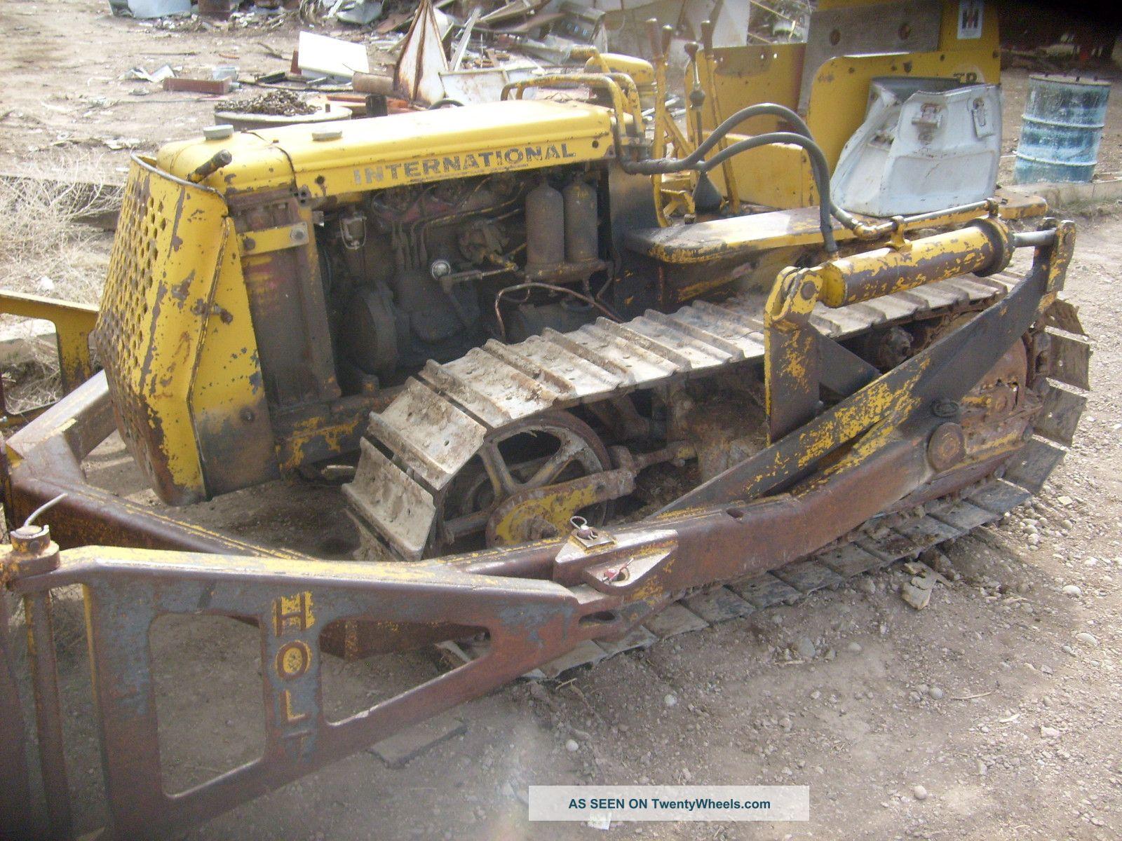 International - Td6 - Tractor - Dozer - Crawler