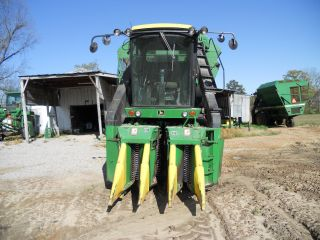 John Deere 9920 Cotton Picker; Field Ready photo