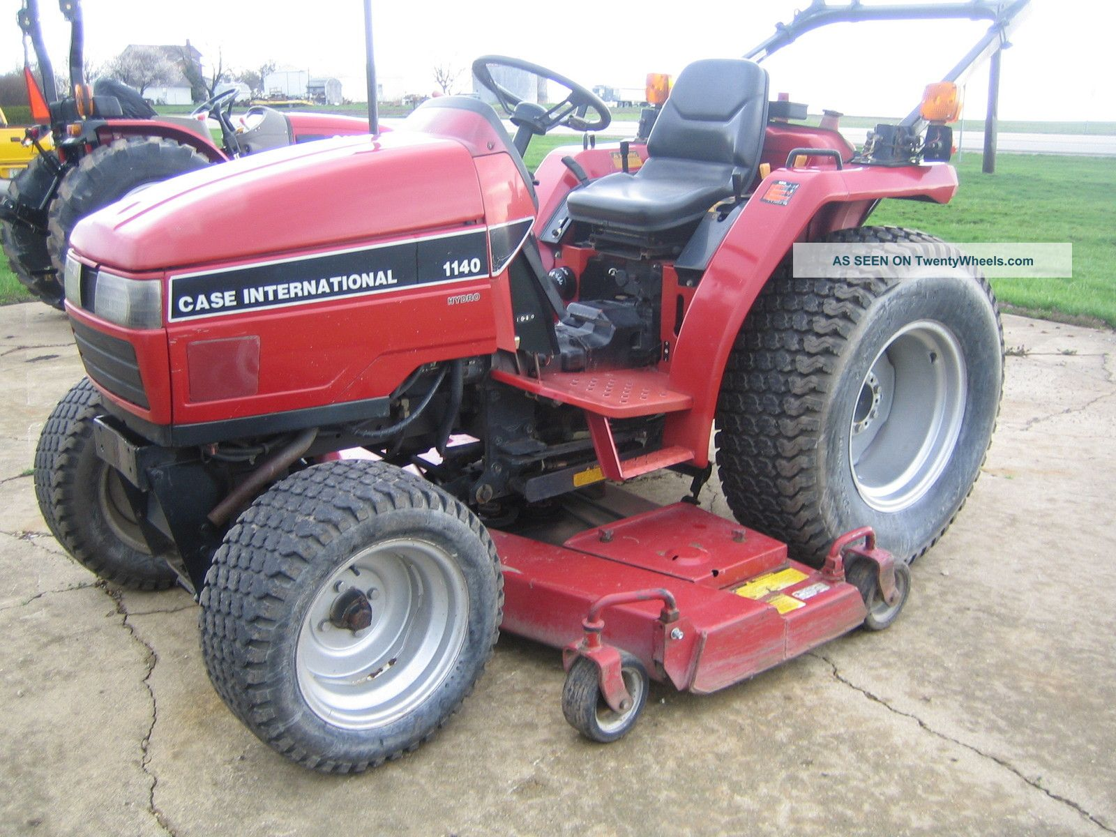 Case Tractor Mowers : Case tractor with mower