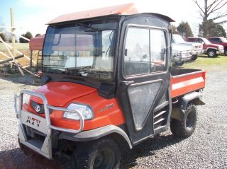 2005 Kubota Diesel Rtv 900 1399 Hrs 4x4 Hard Cab,  Heat photo