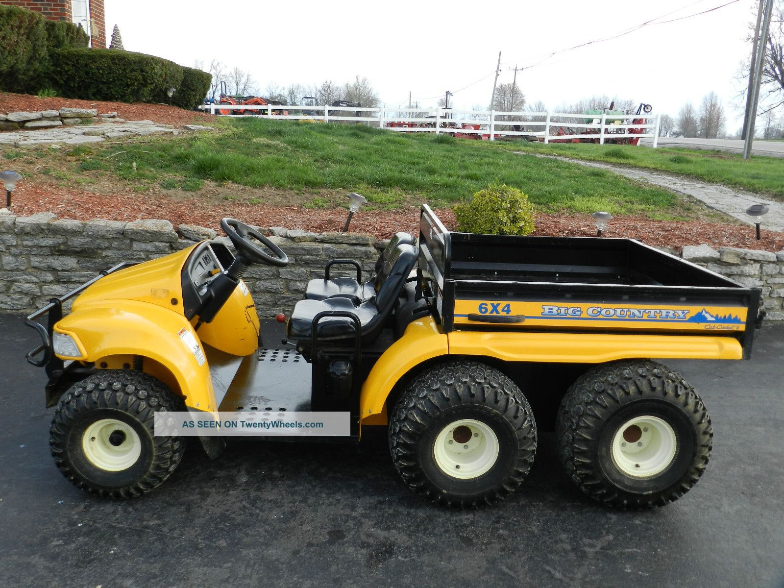 Gator Cub Cadet - Big Country 6x4 - Utv - 723 Hours Utility Vehicles photo