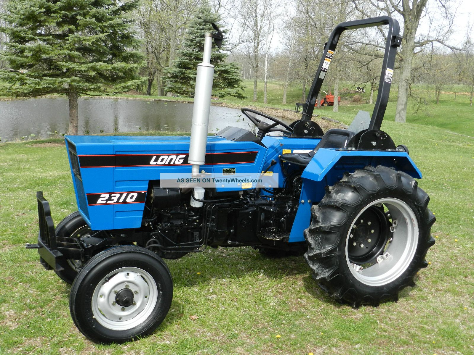 Long 2310 Compact Tractor - Diesel - One Owner Tractors photo