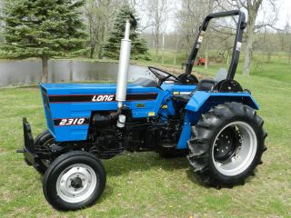 Long 2310 Compact Tractor - Diesel - One Owner photo