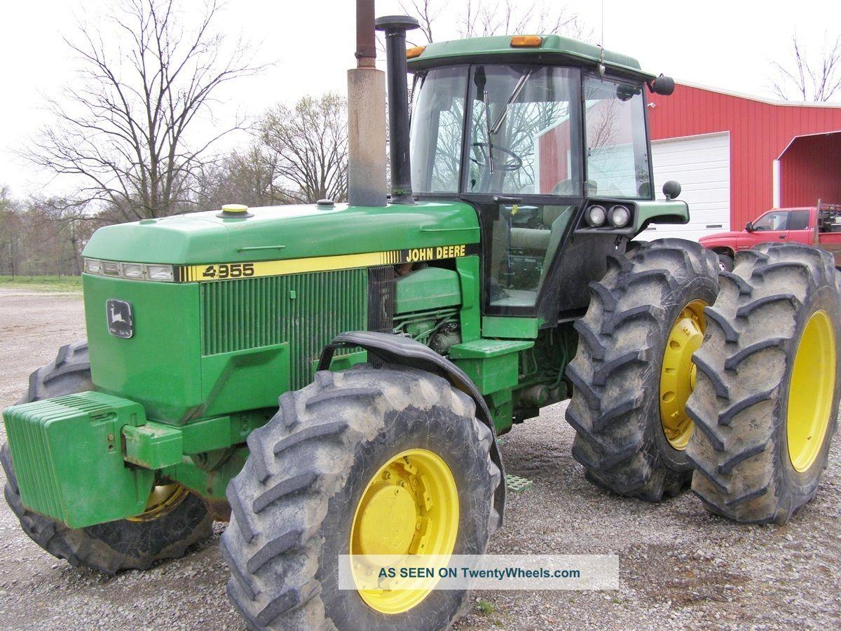 John Deere 4955 Tractors photo