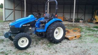 2003 Holland Tc35 4x4 Tractor photo