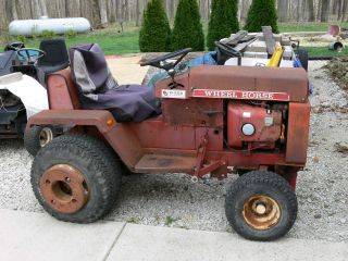 Wheel Horse D - 200 Runs Good With 3 Point And Pto photo