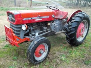 135 Massey Ferguson Tractor - 1969 photo