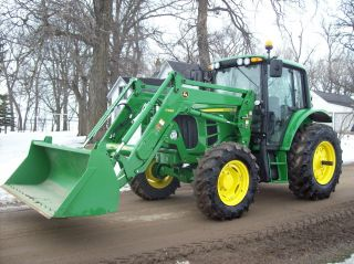 2012 John Deere 6430 Premium W/ 340 Sl Loader.  61 Hours photo