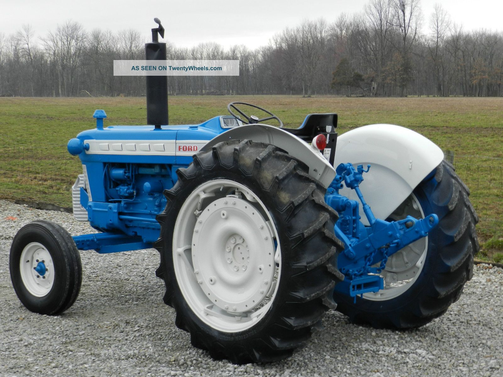 Ford 5000 Tractor Specs : Ford tractor diesel restored sharp