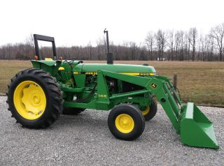 John Deere 2955 Tractor & Front Hydraulic Loader - Diesel - Sharp photo