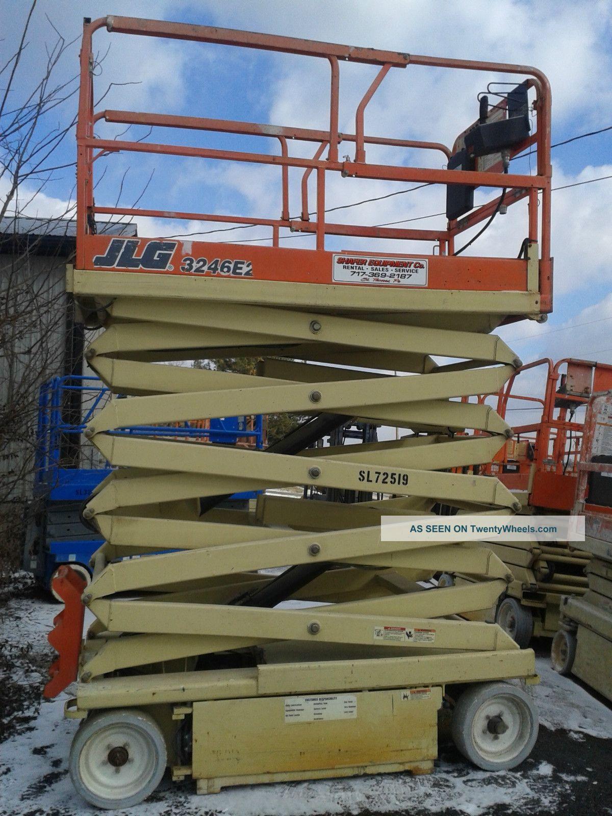 jlg electric scissor lift related keywords suggestions jlg jlg 3246e2 electric scissor lift aerial work platform genie skyjack