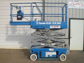 Genie Gs1530 Electric Scissor Lift Aerial Work Platform Jlg Skyjack photo