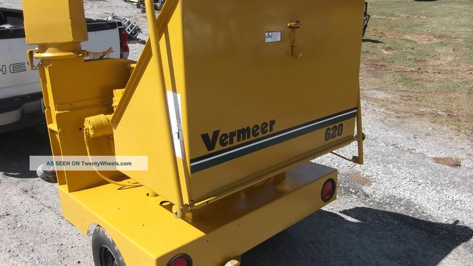 Vermeer 620 Wood Chipper 6
