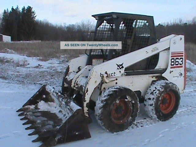 2000 Bobcat 863 Turbo Low Hours Skid Steer Loaders photo