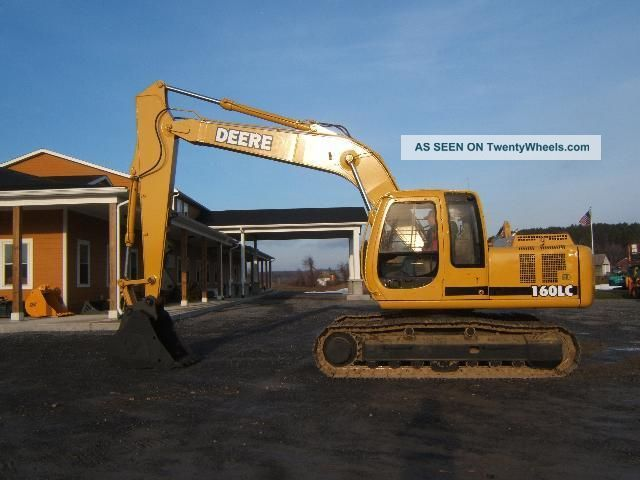 John Deere 160 Lc Excavator Excavators photo