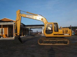 John Deere 160 Lc Excavator photo