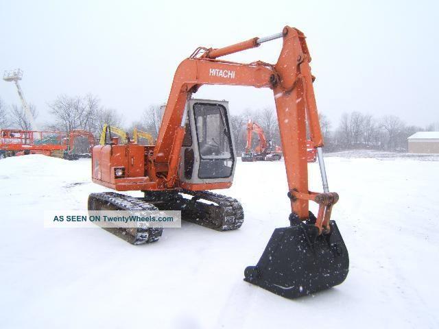 Hitachi Ex60g Excavator Excavators photo