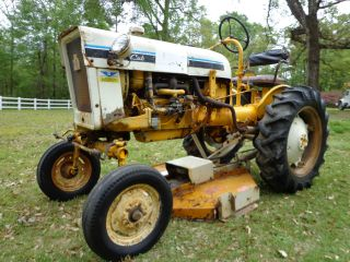 1977 International Harvester Cub Tractor W/belly Mower In Mississippi photo