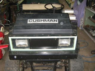 Cushman Turf Truckster. . .  Utility Farm Vehicles. .  Swap Meet Car Show Parts Mover photo