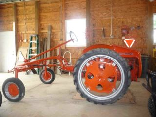 1948 Allis Chalmers Model G Tractor photo